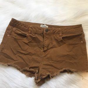Forever 21 khaki/tan shorts